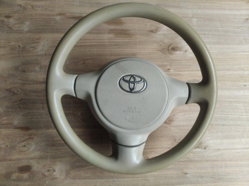 Руль Toyota Porte NNP15 (б/у)