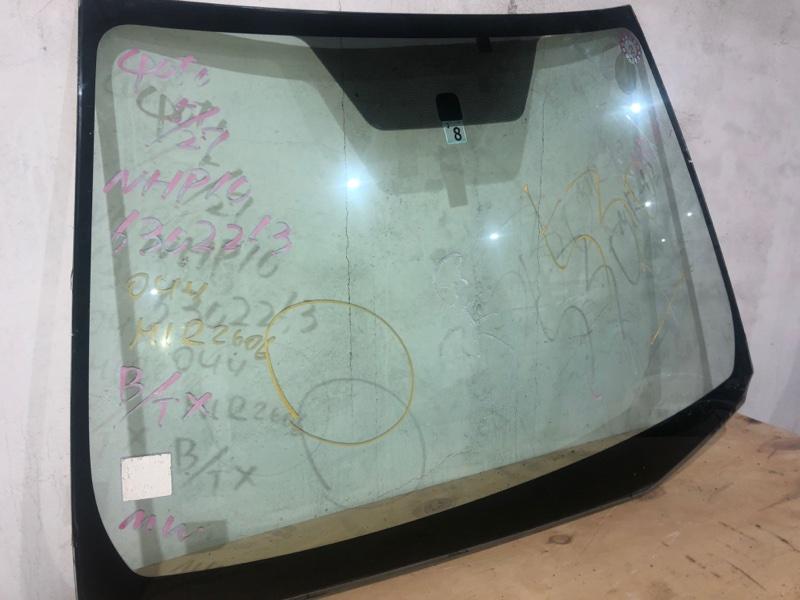 Стекло лобовое Toyota Aqua NHP10 1NZFXE 2014 переднее (б/у)