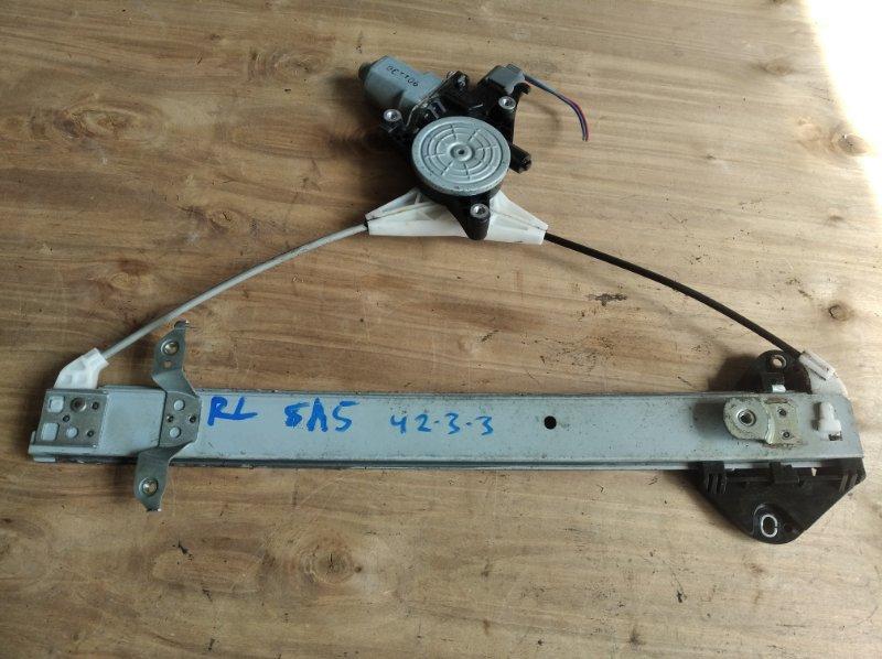 Стеклоподъемник Subaru Forester SH5 задний левый (б/у)