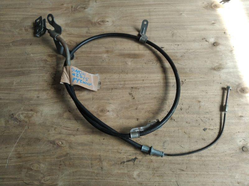 Тросик ручника Nissan Tiida Latio SNC11 (б/у)