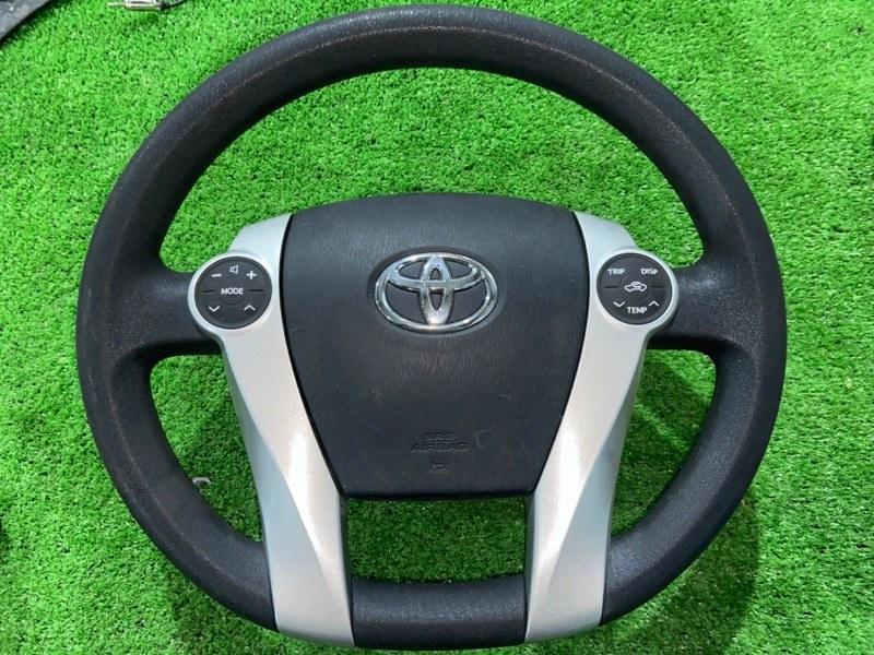 Руль Toyota Prius ZVW30 2ZR-FXE 2010.09 (б/у)