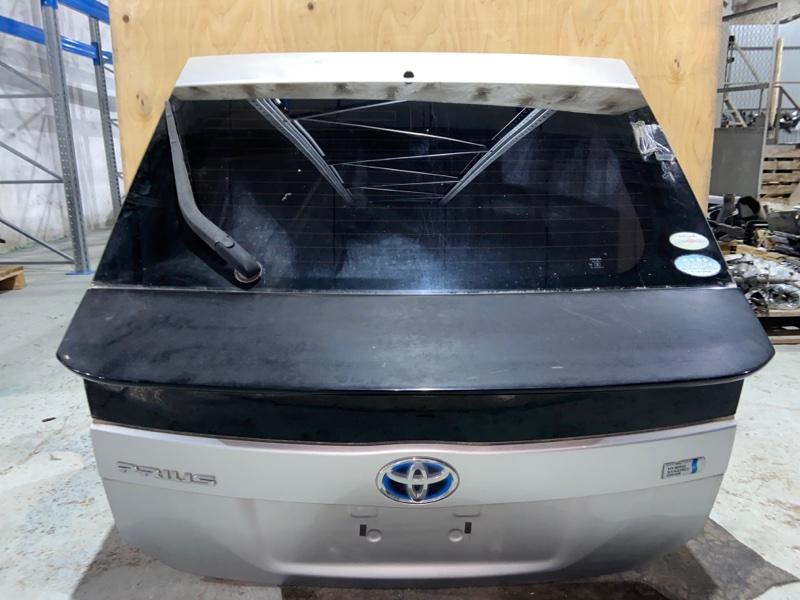 Дверь задняя Toyota Prius ZVW30 2ZR-FXE 2010.09 задняя (б/у)