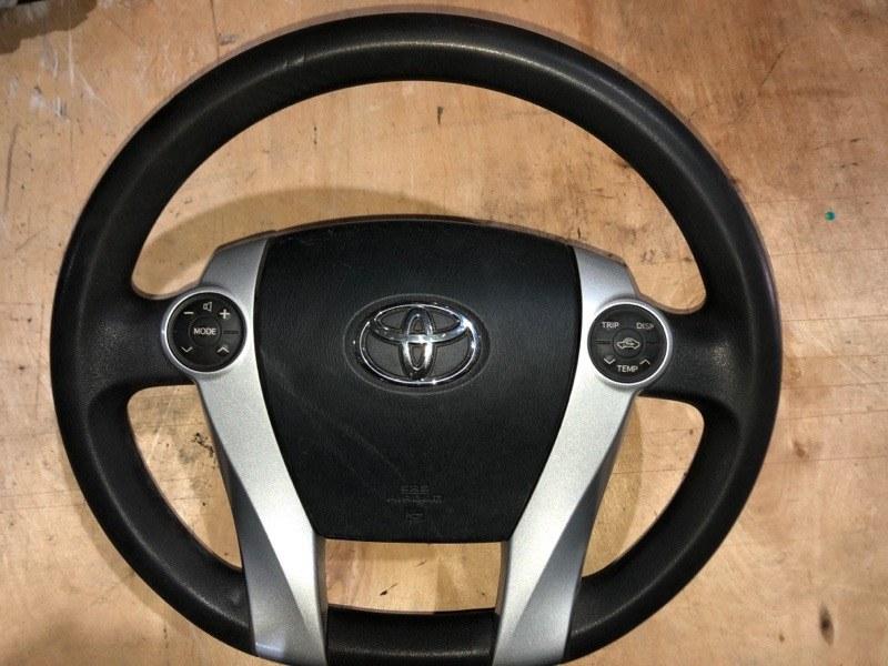Руль Toyota Prius ZVW30 2ZR-FXE 2010.11 (б/у)