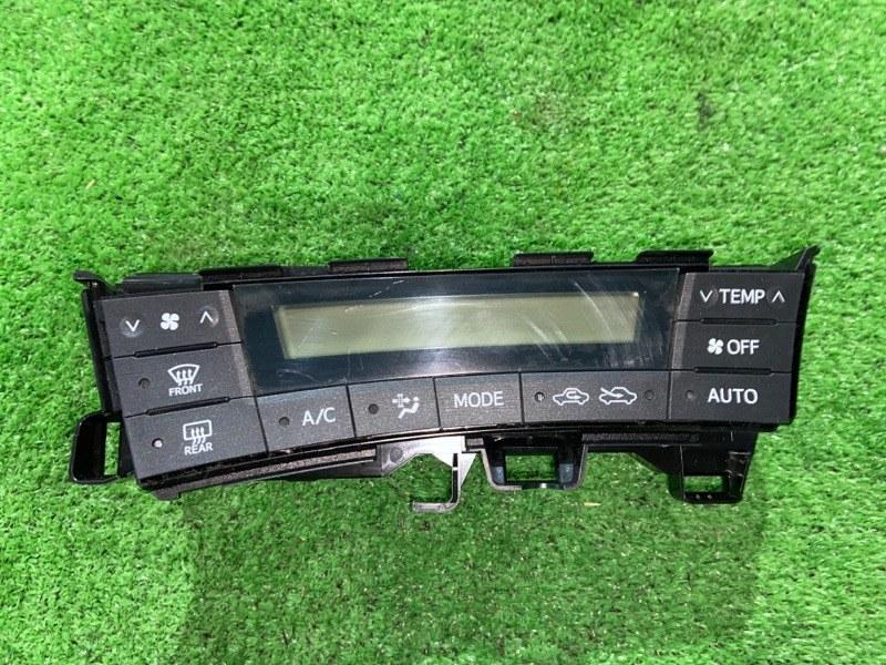 Блок управления климат-контролем Toyota Prius ZVW30 2ZR-FXE 2010.09 (б/у)