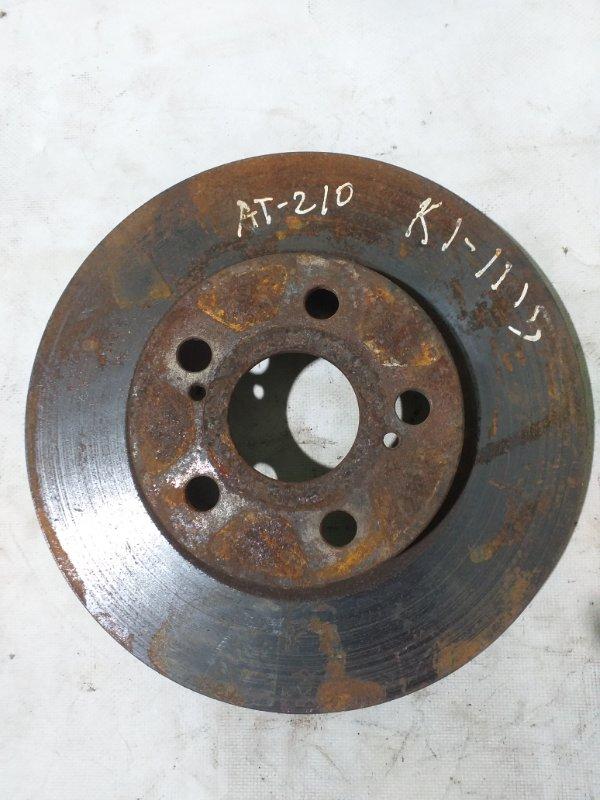 Тормозной диск Toyota Carina AT210 передний (б/у)