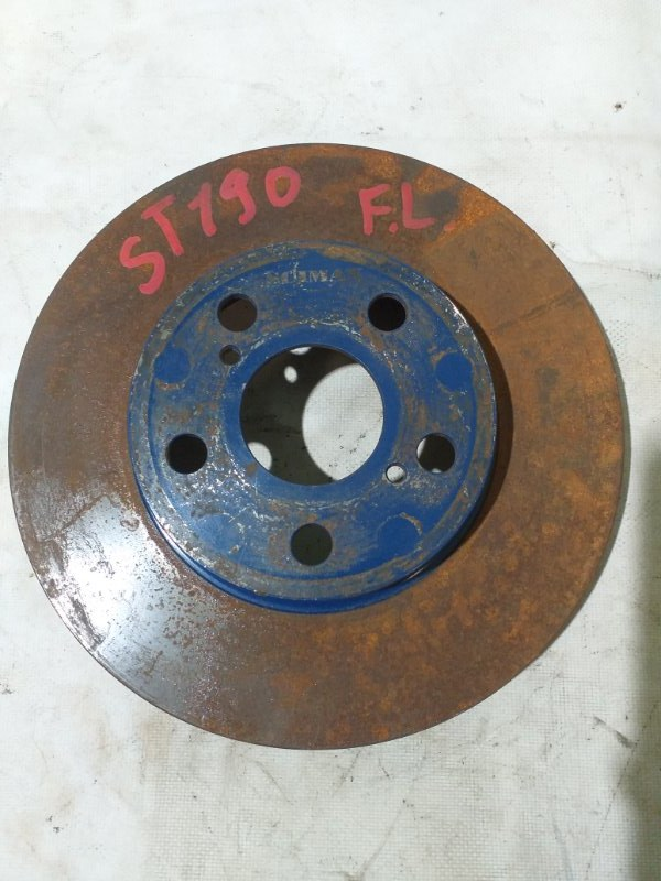 Тормозной диск Toyota Carina ST190 передний (б/у)