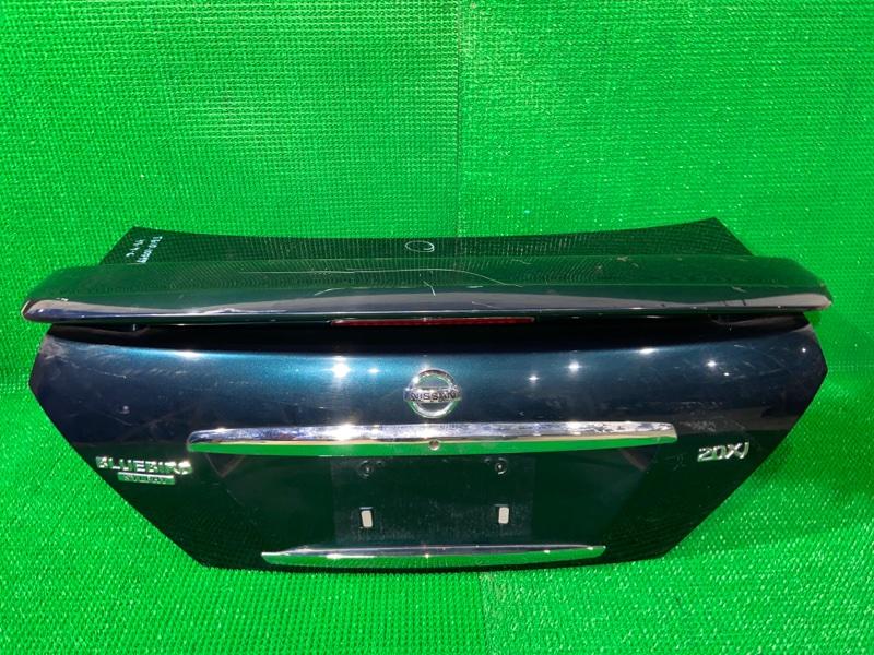 Крышка багажника Nissan Bluebird Sylphy TG10 QR20DE (б/у)