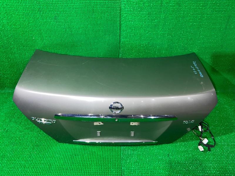 Крышка багажника Nissan Bluebird Sylphy QNG10 QG18 (б/у)