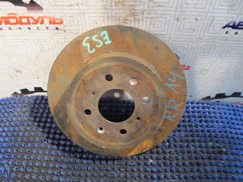 Диск тормозной Honda Civic Ferio ES3 D17A задний