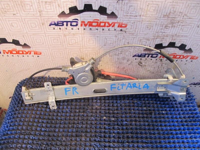 Стеклоподъемник Honda Fit Aria GD6 передний правый