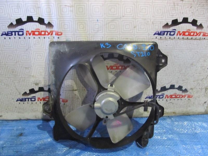 Диффузор радиатора Toyota Caldina ST210 правый