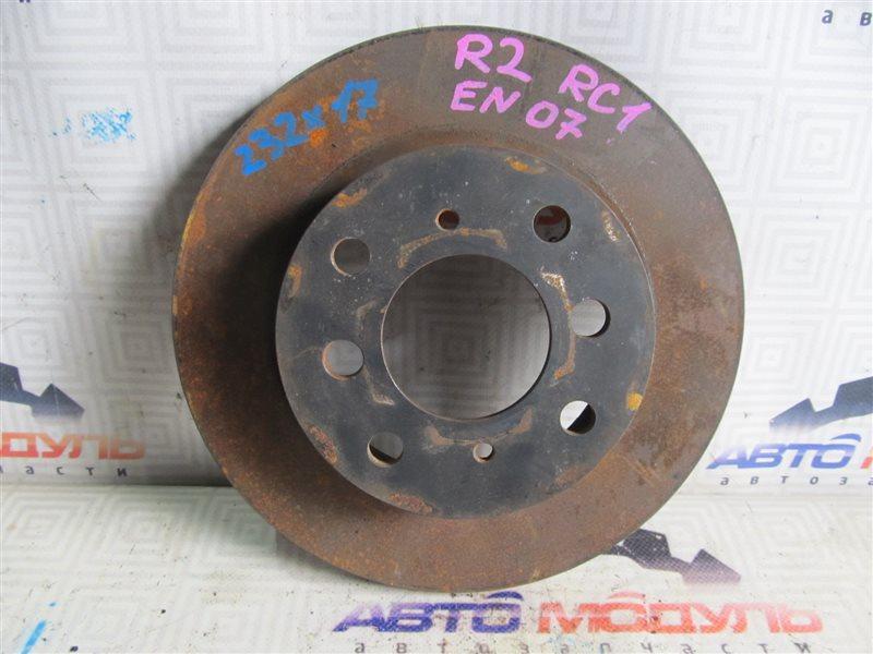 Диск тормозной Subaru R2 RC1 передний