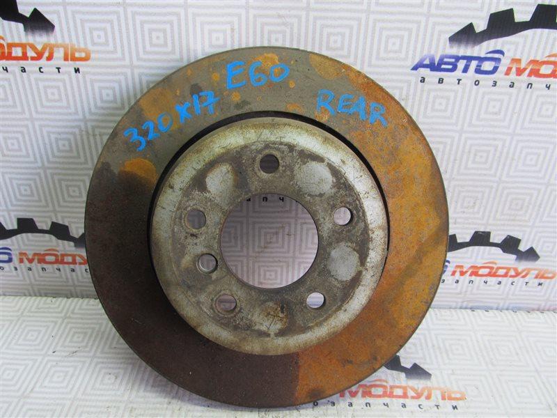 Диск тормозной Bmw 5 Series E60 задний
