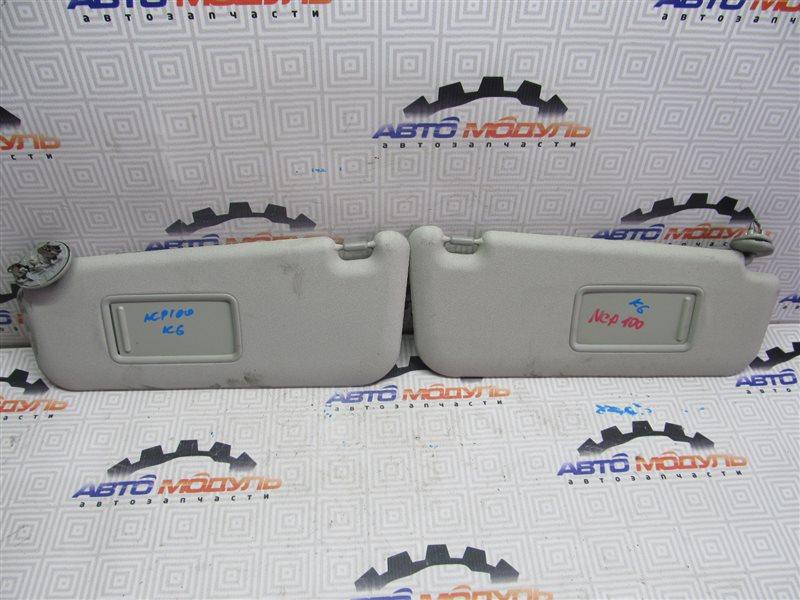 Козырек солнцезащитный Toyota Ractis NCP100 1NZ