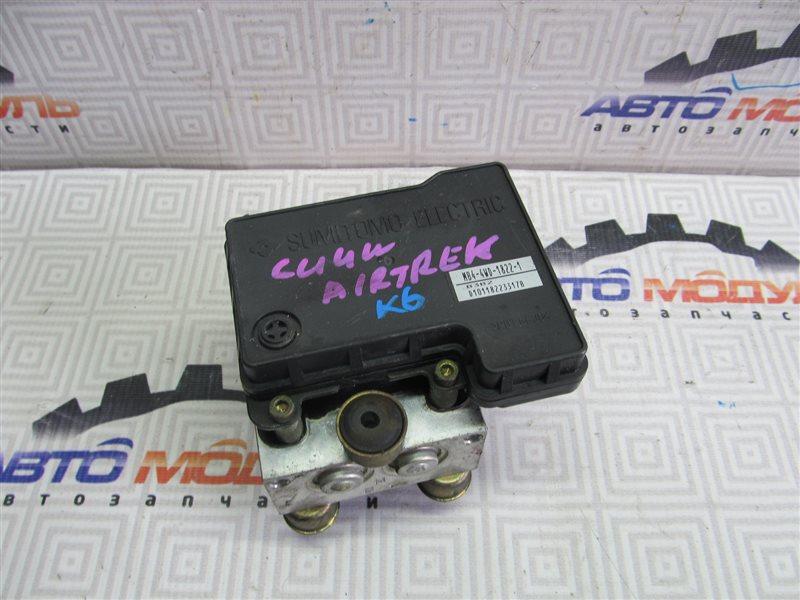 Блок abs Mitsubishi Airtrek CU2W 4G64