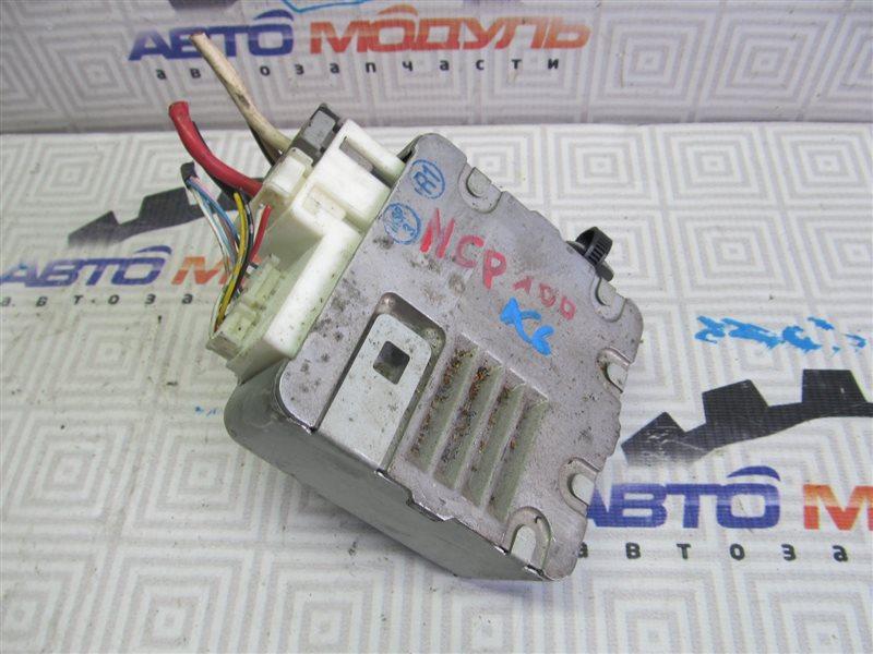 Блок управления рулевой рейкой Toyota Ractis NCP100 1NZ