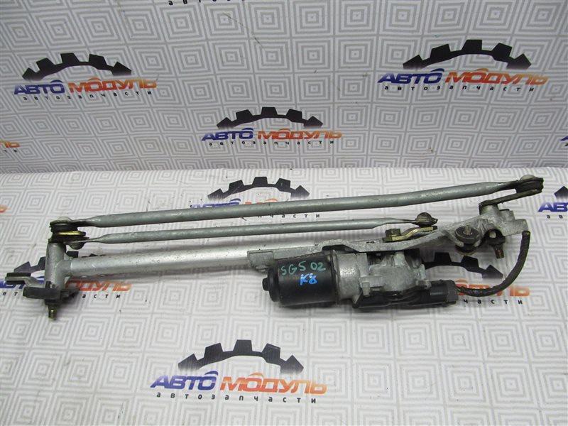 Мотор дворников Subaru Forester SG5-017040 EJ202 2002 передний