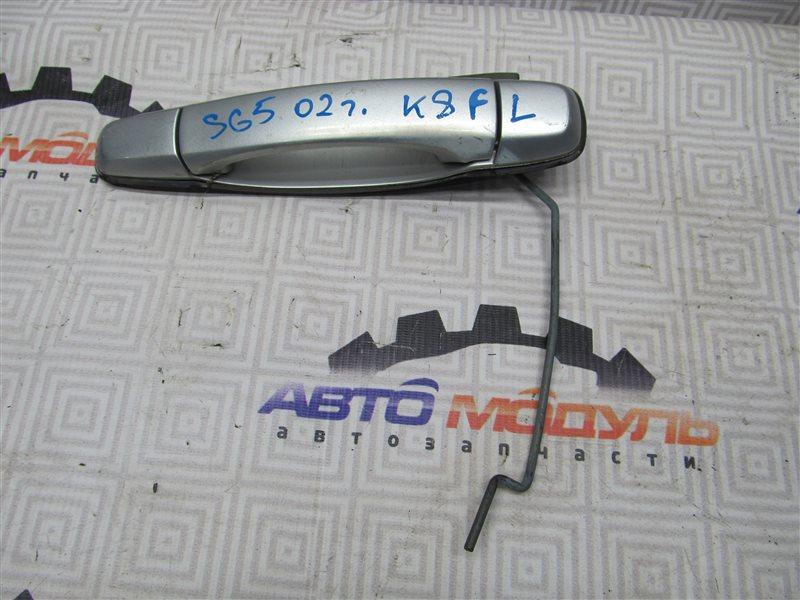 Ручка двери Subaru Forester SG5-017040 EJ202 2002 передняя левая