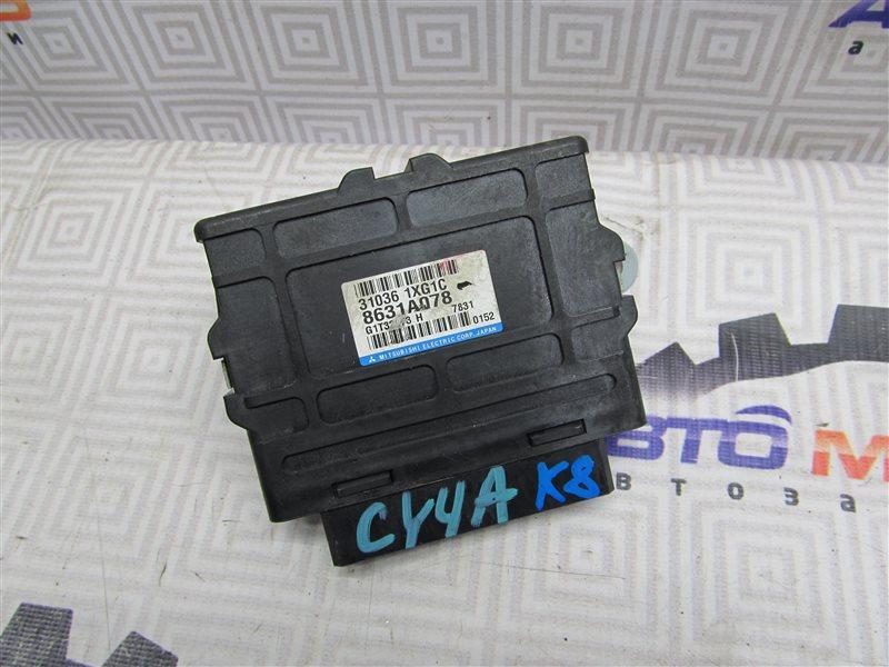 Блок управления акпп Mitsubishi Lancer X CY4A-0102857 4B11 2007