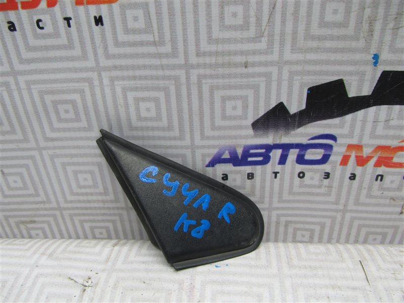 Уголок крыла Mitsubishi Lancer X CY4A-0102857 4B11 2007 передний правый