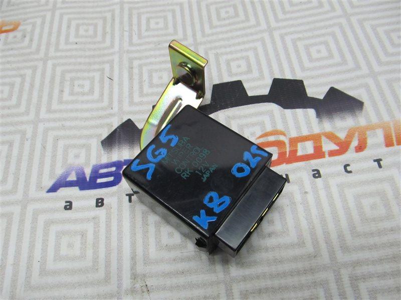 Блок управления стеклоочистителем Subaru Forester SG5-017040 EJ202 2002