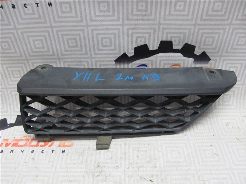 Решетка радиатора Nissan Wingroad WFY11 левая