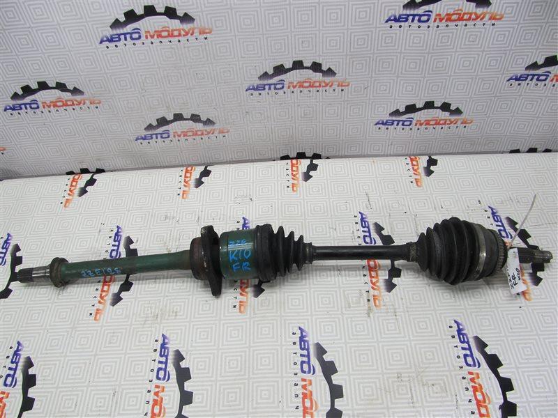 Привод Toyota Will Vs ZZE128-0001707 2ZZ-GE 2001 передний правый