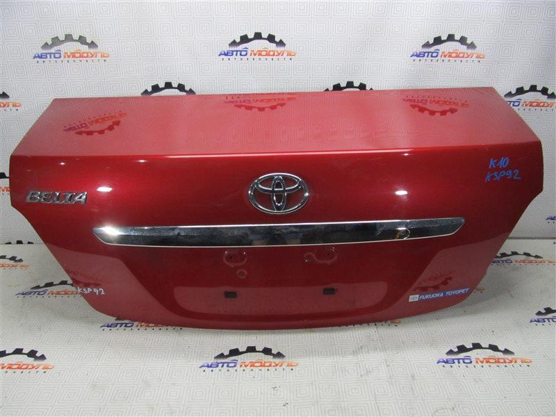 Крышка багажника Toyota Belta KSP92