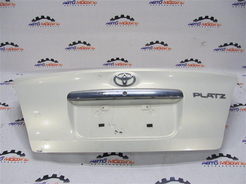 Крышка багажника Toyota Platz NCP12-0326025 1NZ-FE 2003