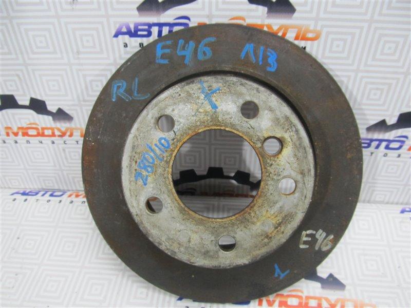 Диск тормозной Bmw 3 Series E46 задний