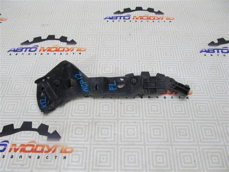 Крепление бампера Toyota Platz NCP12-0326025 1NZ-FE 2003 переднее левое