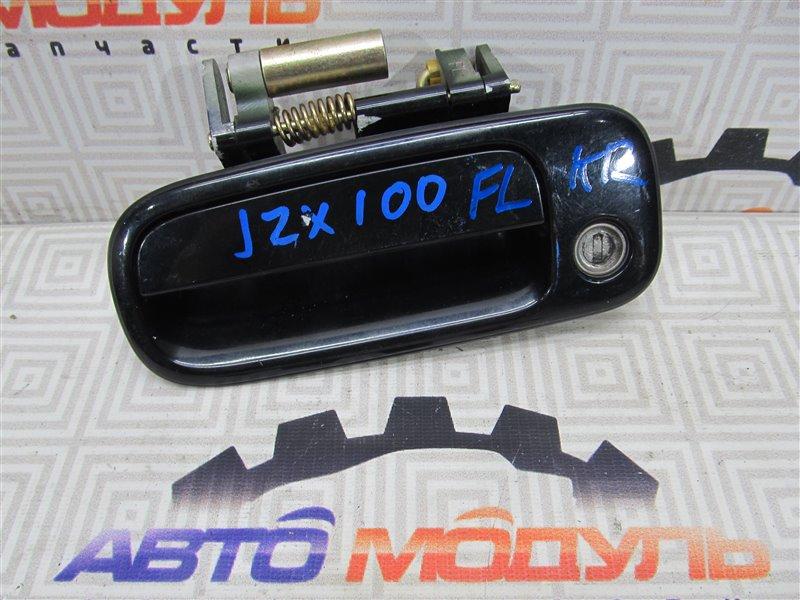 Ручка двери Toyota Chaser JZX100-0077382 1JZ-GE 1997 передняя левая