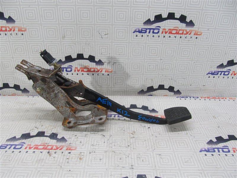 Педаль тормоза Toyota Sprinter Carib AE111-7038173 4A-FE 1997