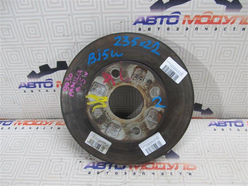 Диск тормозной Mazda Familia BJ5P ZL передний