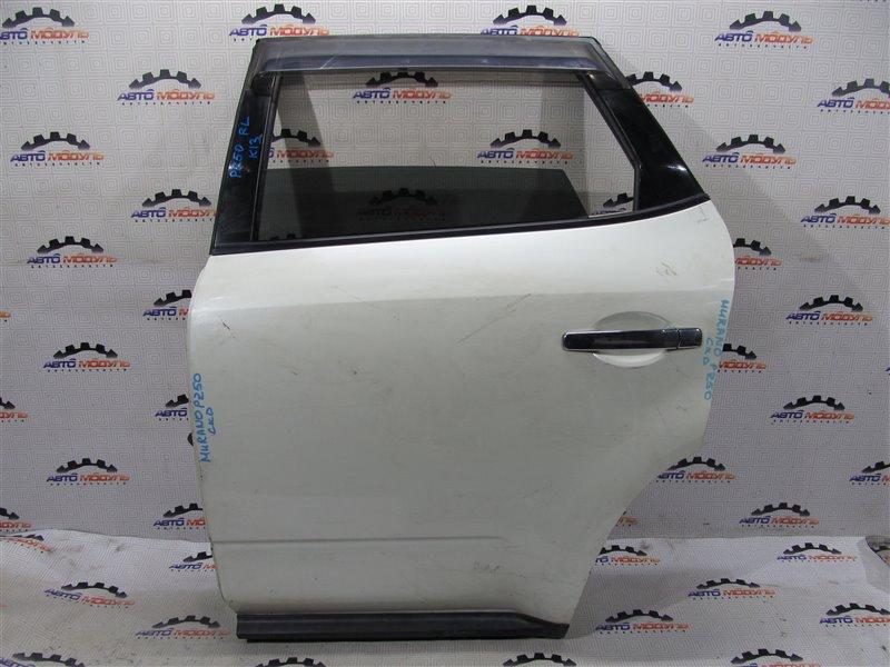 Дверь Nissan Murano PZ50-004296 VQ35-DE 2005 задняя левая