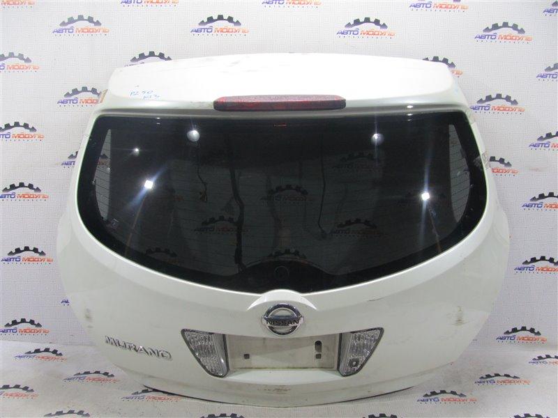 Дверь 5-я Nissan Murano PZ50-004296 VQ35-DE 2005 задняя