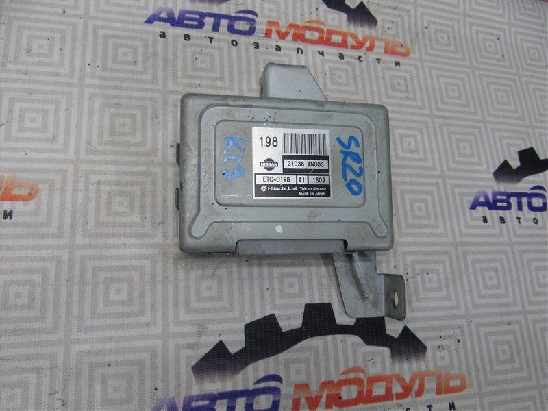 Блок управления акпп Nissan Serena PC24 SR20