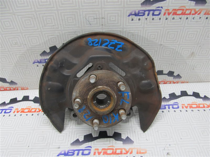 Ступица Toyota Will Vs ZZE128-0001707 2ZZ-GE 2001 передняя левая