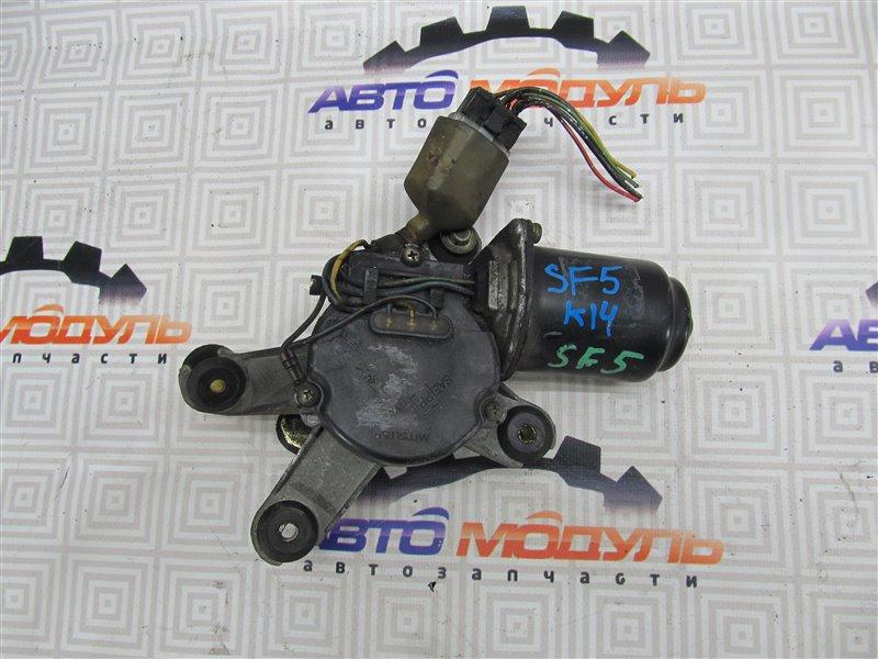 Мотор дворников Subaru Forester SF5-012802 EJ20G 1997 передний