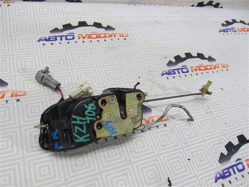 Замок двери Toyota Hiace KZH106-0029125 1KZ-TE 1997 передний правый