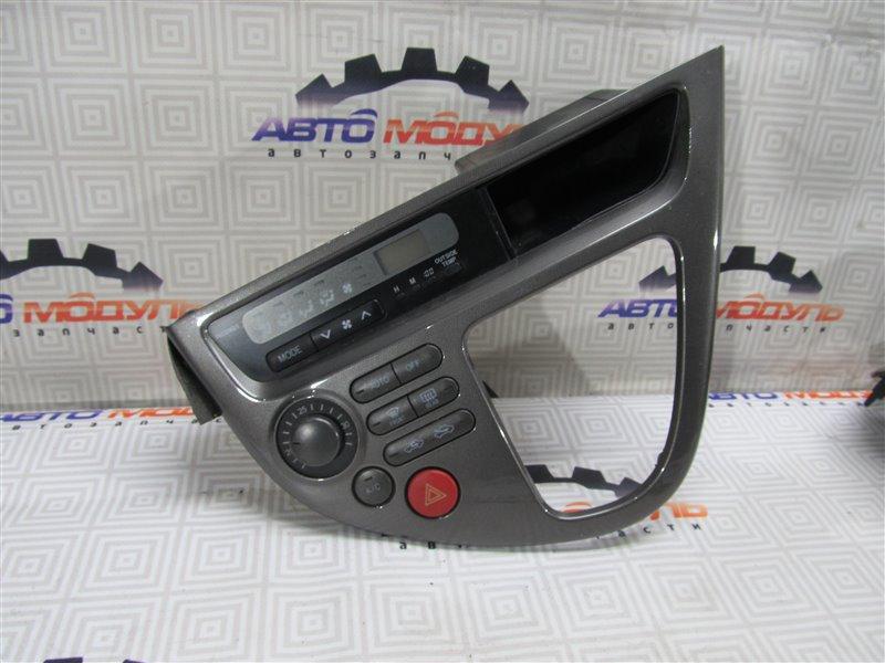 Блок управления климат-контролем Toyota Wish ZNE10-0252269 1ZZ-FE 2005