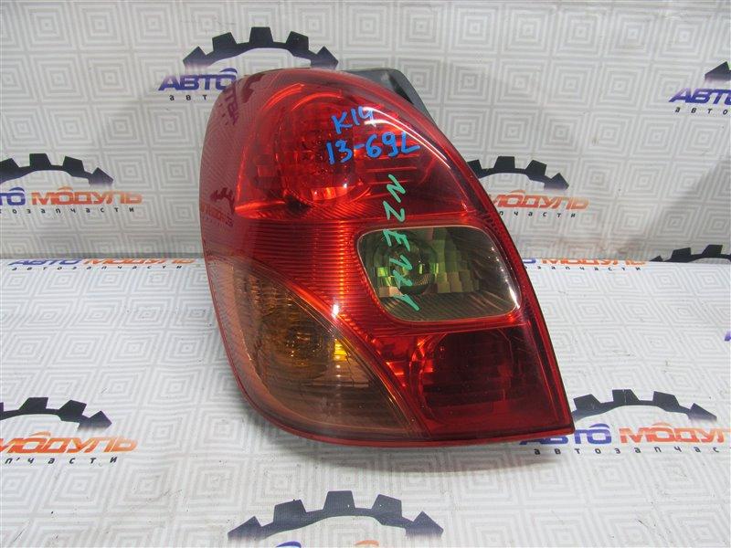 Стоп Toyota Corolla Spacio NZE121-3118902 1NZ-FE 2002 левый