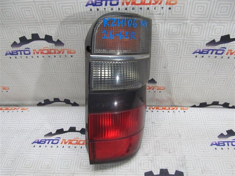 Стоп Toyota Hiace KZH106-0029125 1KZ-TE 1997 правый