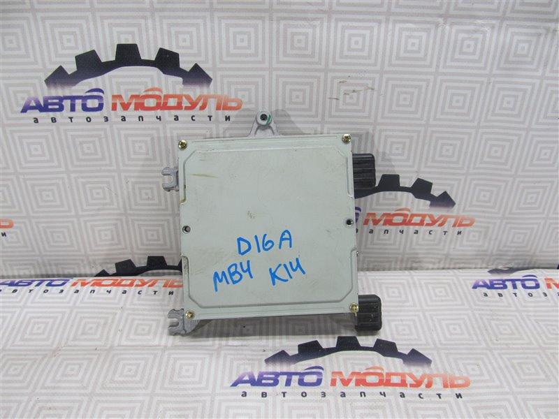 Компьютер двс Honda Domani MB4 D16A