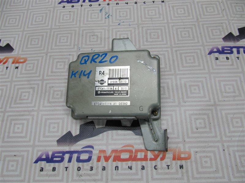 Блок управления акпп Nissan Serena TC24 QR20-DE