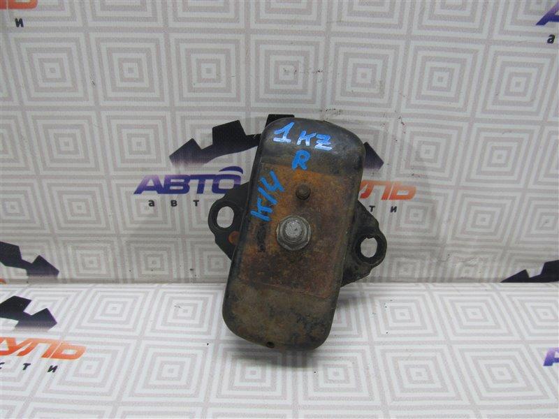 Подушка двигателя Toyota Hiace KZH106-0029125 1KZ-TE 1997 передняя правая