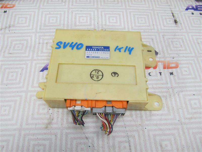 Блок управления климат-контролем Toyota Vista SV40-0009488 4S-FE 1994