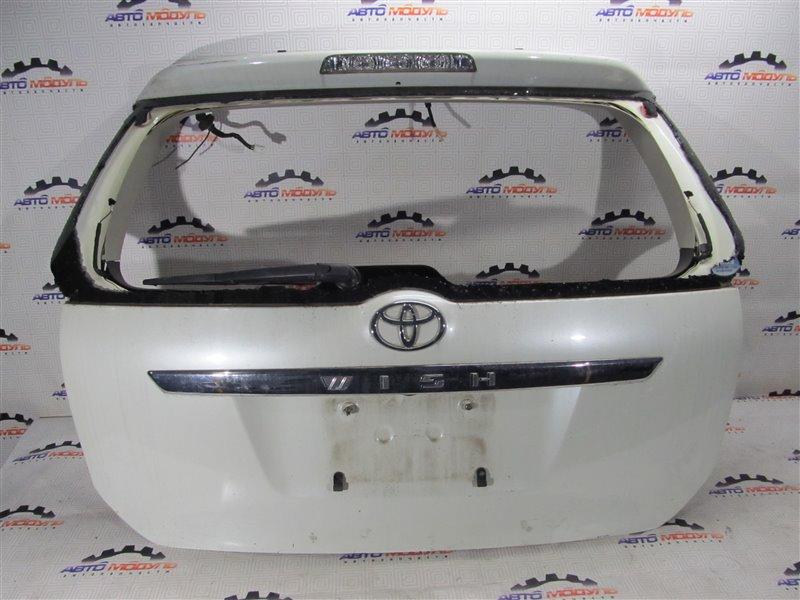 Дверь 5-я Toyota Wish ANE10 задняя