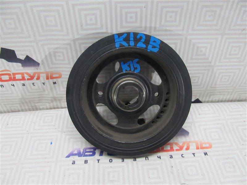 Шкив коленвала Suzuki Swift ZC71S K12B