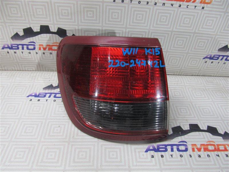 Стоп Nissan Avenir W11 левый